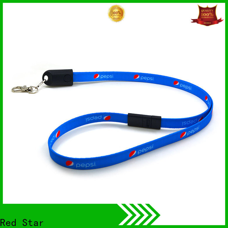 Red Star latest lanyard data cable manufacturers for business