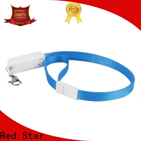 Red Star lanyard data cable suppliers for phone