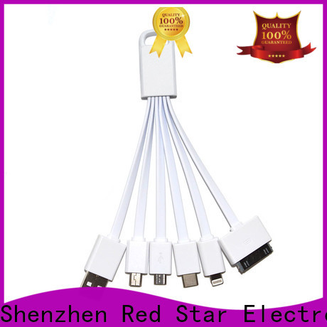 Red Star wholesale charging cord supply for business