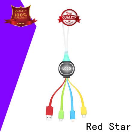 Red Star custom usb splitter cable supply for mobile phone