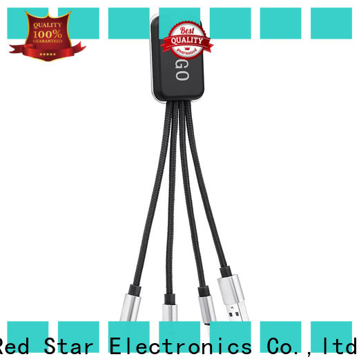 Red Star new multi pin charging cable travel kits for mobile phone