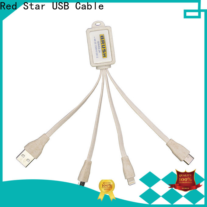 Red Star environmental charging cable company for sale