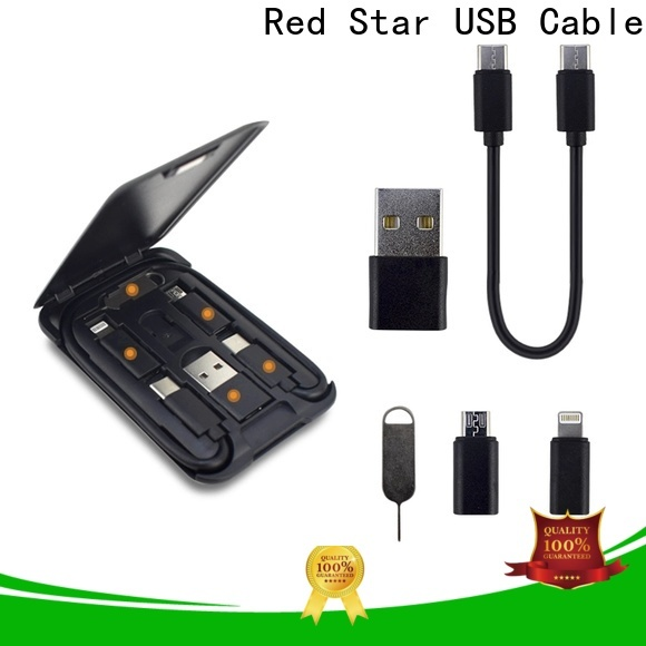 Red Star best micro usb multi charging cable supply for sale