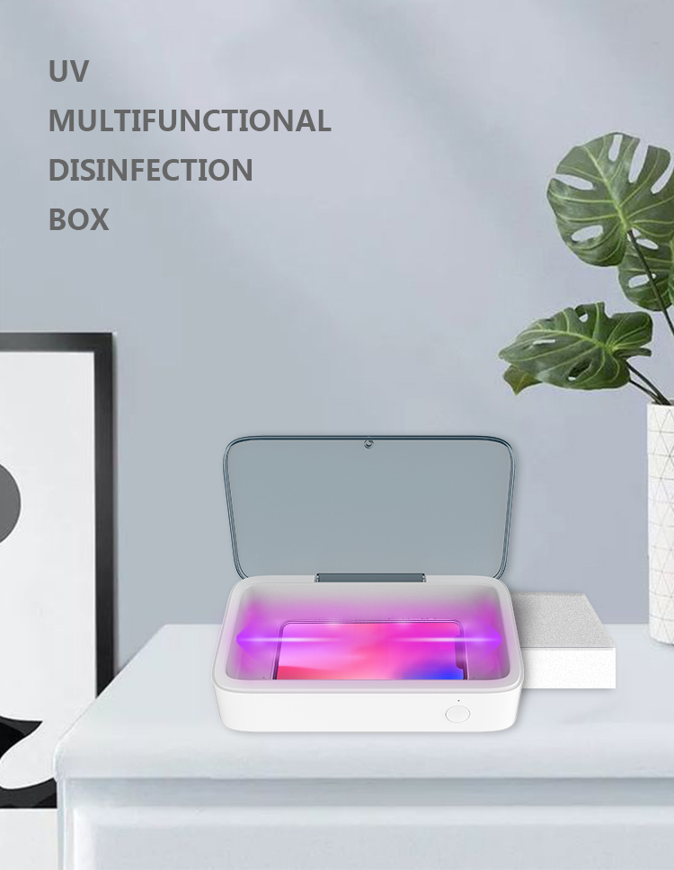 Popular 5W Wireless UVC LED Light Sterilization Cleaner