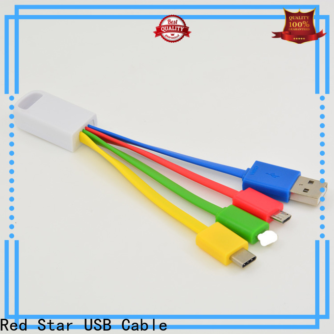 Red Star multi micro usb cable company for business