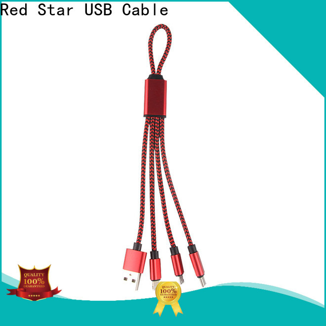 Red Star multi charging cable factory for phone