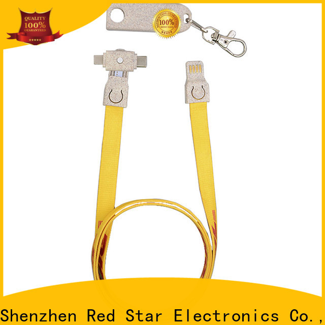 Red Star wheat straw eco data blocker with custom logo for business