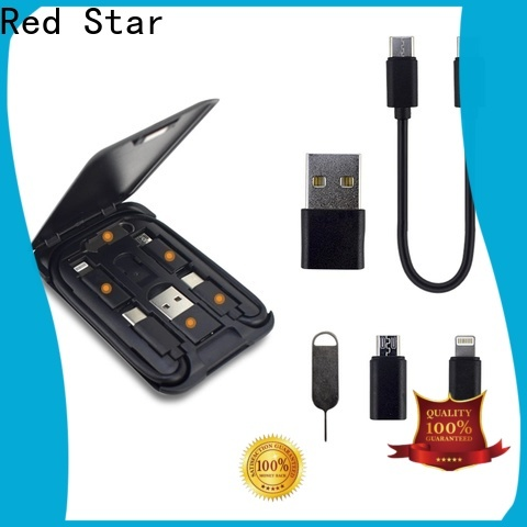 Red Star top multi charging cable supply for phone