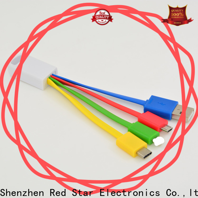 Red Star micro usb multi charging cable factory for business