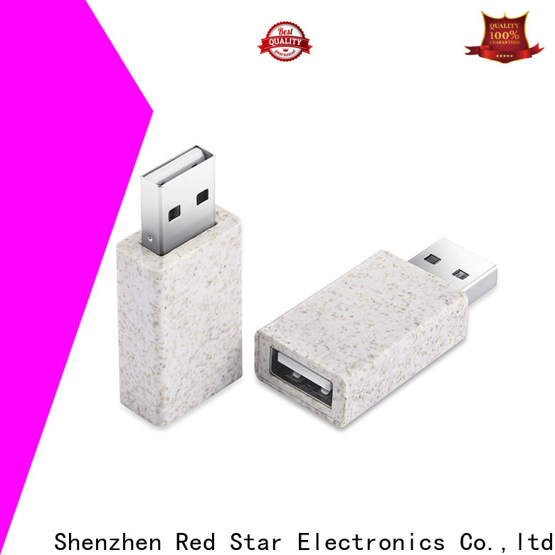 Red Star eco-friendly charging cable with custom logo for business