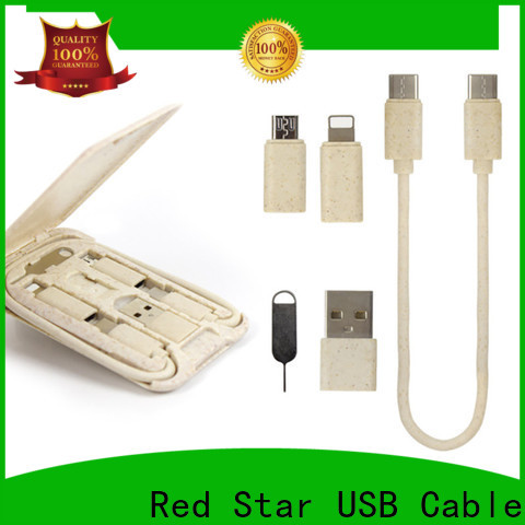 Red Star eco friendly charging cable factory for sale