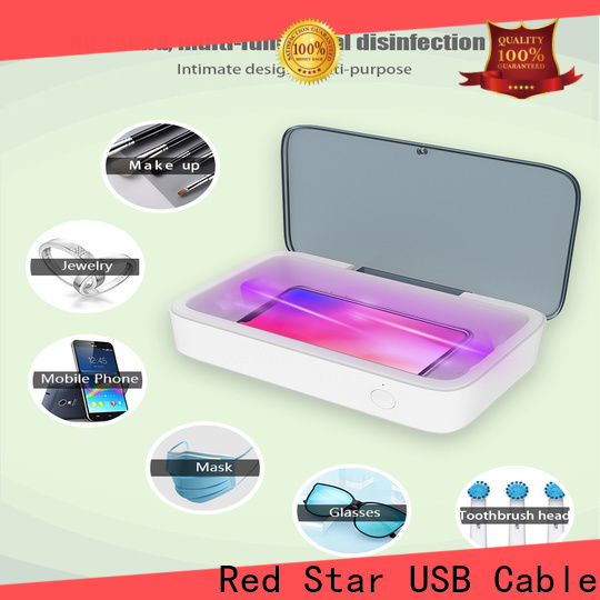 Red Star uv-c light sterilizer manufacturers for phone