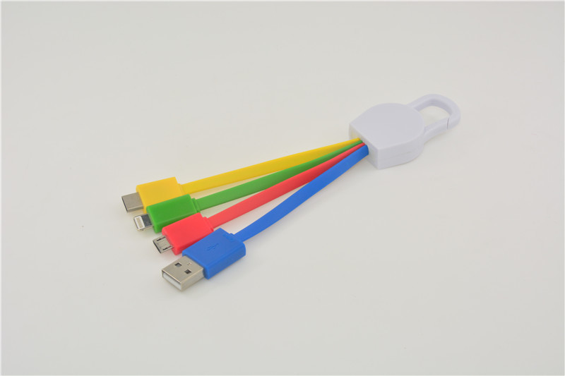 4 in 1 Multiple Charger Cable for Android Type C Lightning