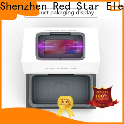 Red Star uvc ultraviolet sterilizer with custom logo for business