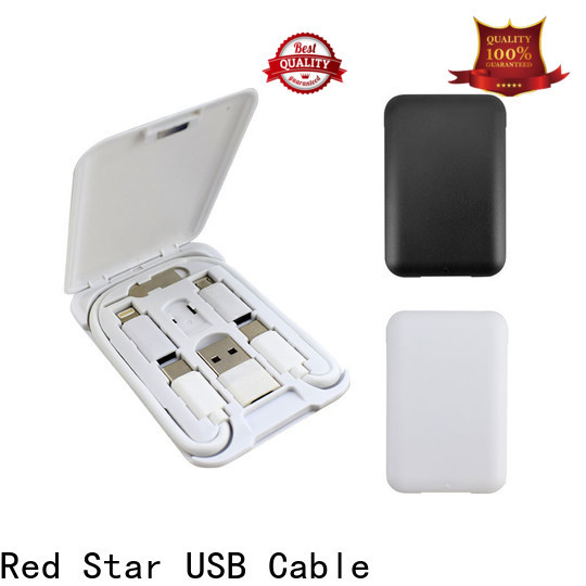 Red Star multi usb charging cable travel kits for mobile phone