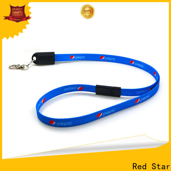 Red Star lanyard charging cable company for sale