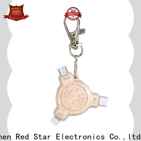 Red Star wholesale eco-friendly charging cable suppliers for business