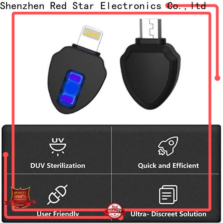 Red Star latest uvc sterilizer manufacturer with custom logo for sale
