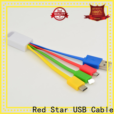 Red Star best braided charging cable manufacturers for mobile phone