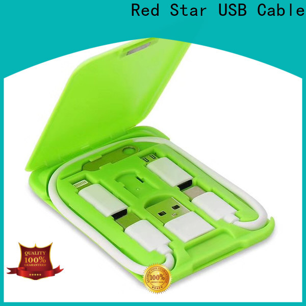 Red Star charger cable set supply for mobile phone