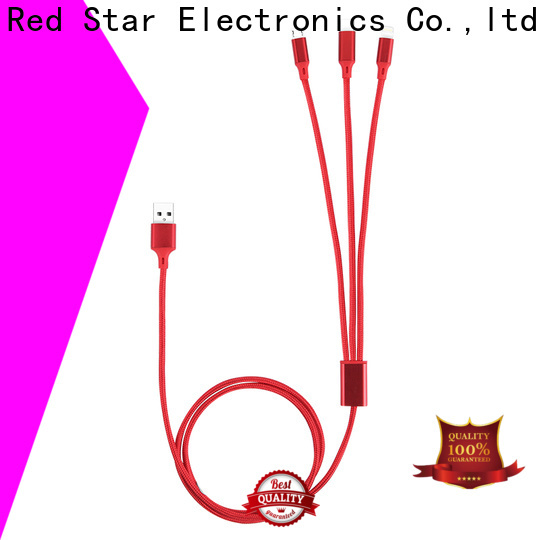 Red Star high-quality best braided charging cable manufacturers for business