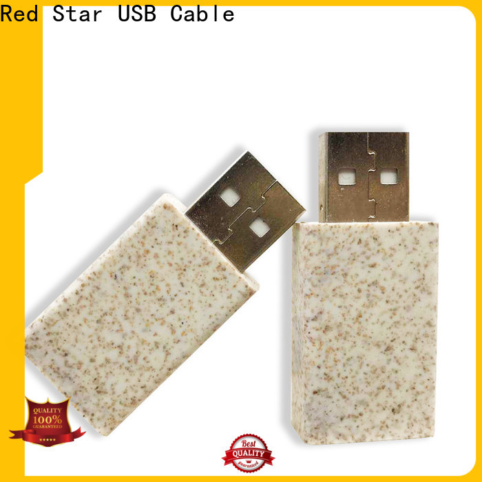 Red Star biodegradable lanyard cable with custom logo for business