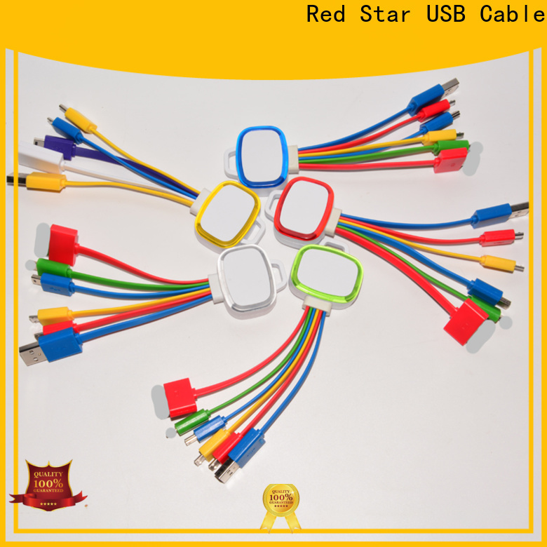 Red Star latest multi use light up cable company for mobile phone