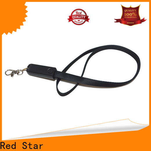 Red Star best lanyard charging cable suppliers for sale