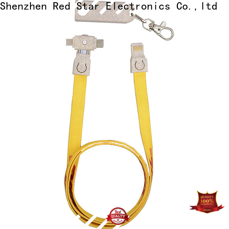 Red Star wholesale biodegradable lanyard cable manufacturers for sale