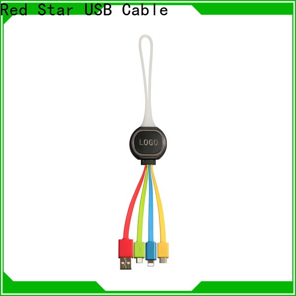 custom multi use light up cable suppliers for phone