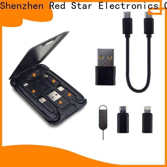 Red Star charger cable set company for business
