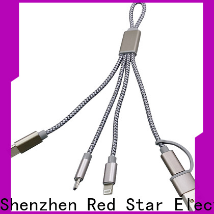 wholesale braided charging cable company for sale