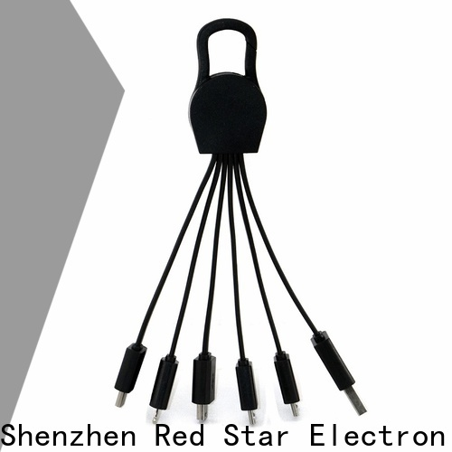Red Star promotional multi charging cable factory for sale