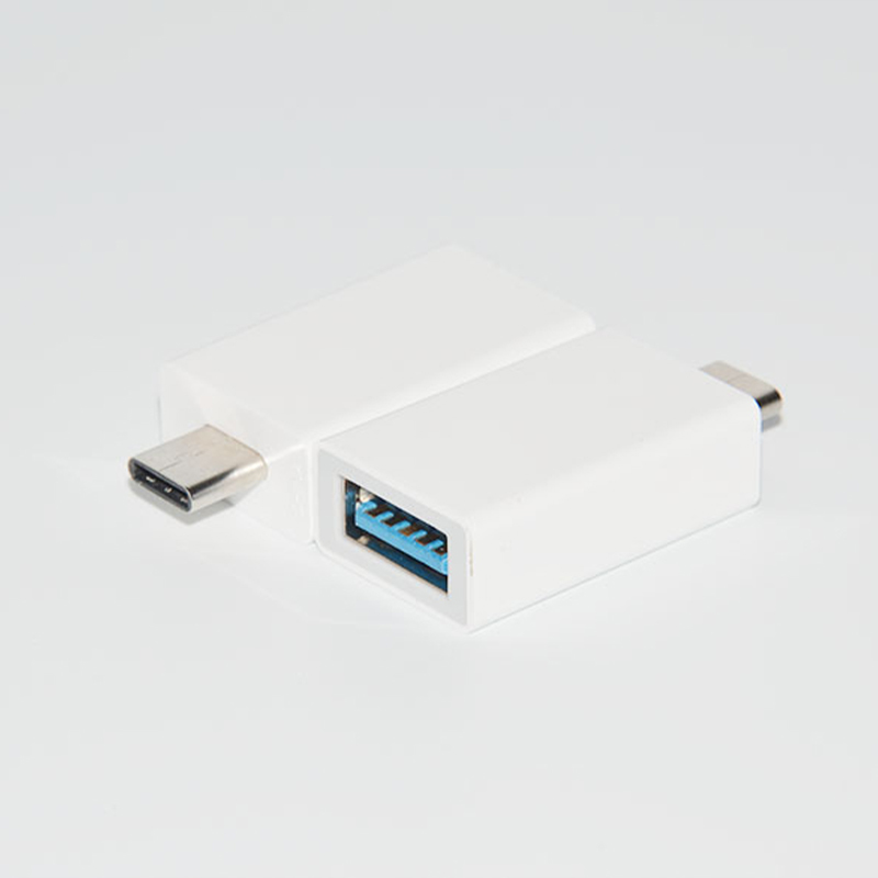 Plastic USB 3.0 Type C Adapter OTG Adapter for MacBook