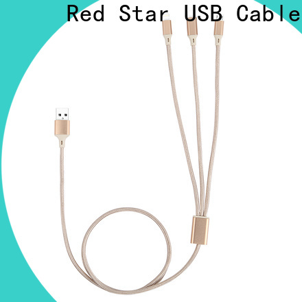 Red Star best braided charging cable company for phone