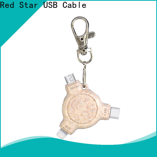 Red Star eco usb charger supply for phone
