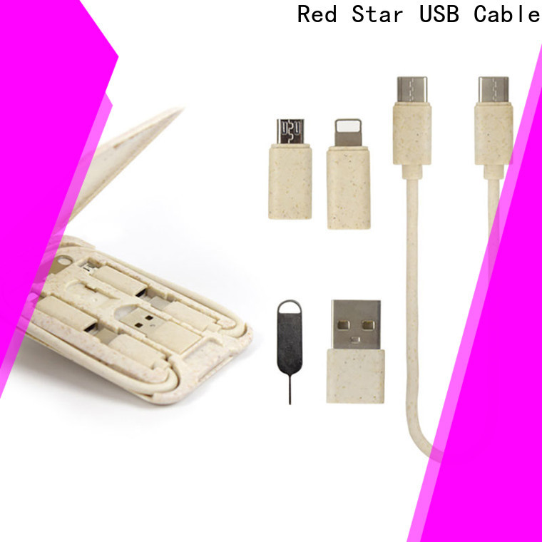 Red Star multi pin usb charger cable travel kits for phone
