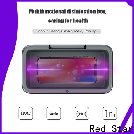 Red Star uv-c light sterilizer company for computer