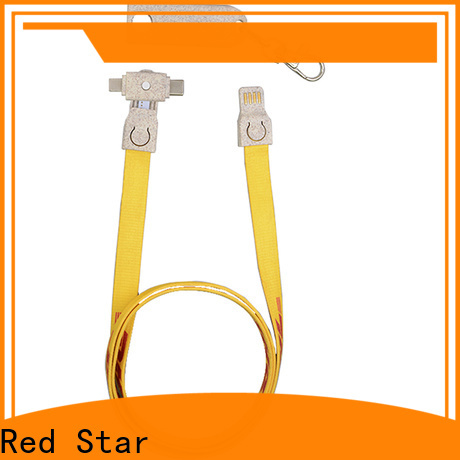 Red Star top environmental charging cable factory for sale