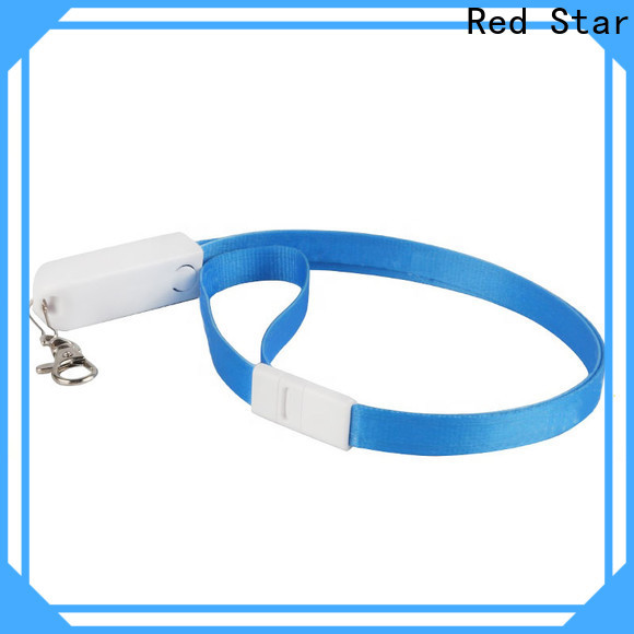 Red Star lanyard usb cable company for work