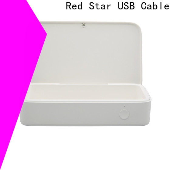 Red Star new uvc ultraviolet sterilizer with custom logo for computer