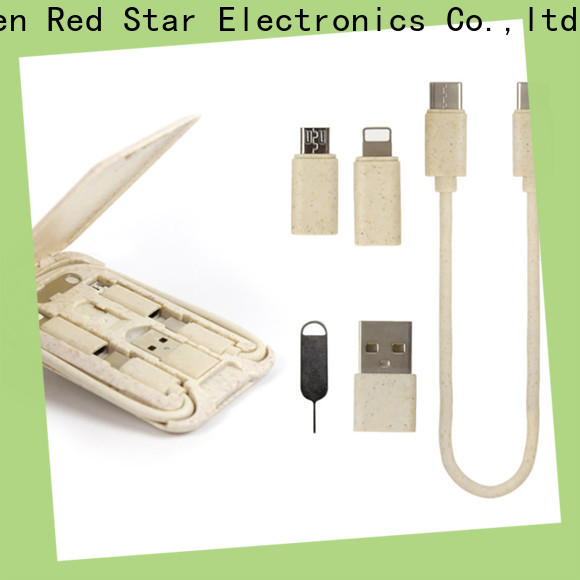 Red Star eco lanyard cable suppliers for sale